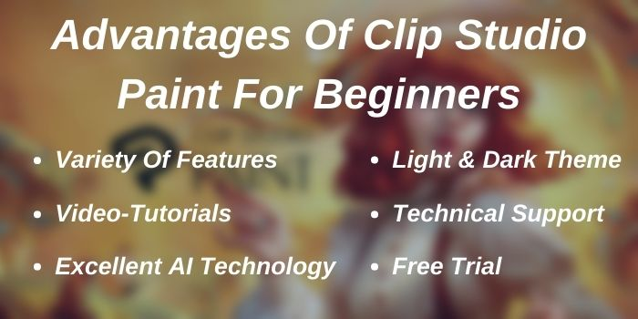 Advantages of Clip Studio Paint For Beginners