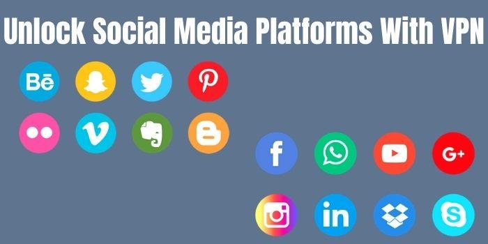 Unlock Social Media Platforms with VPN