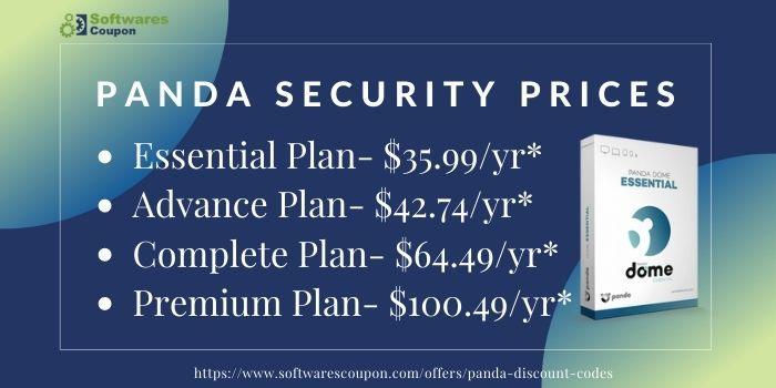 Panda Security Prices