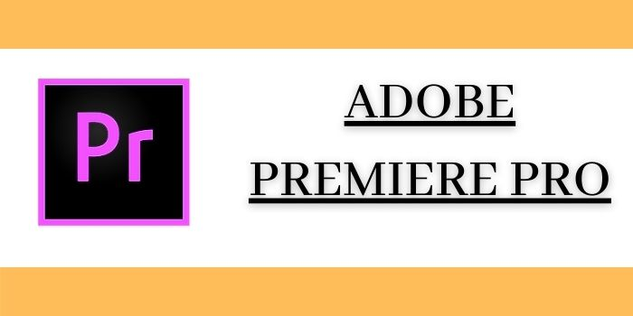 Adobe Premiere Pro Best option for Professional Users