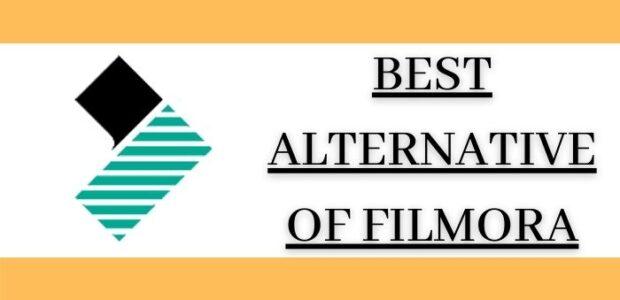 Best Alternatives And Competitors of Filmora