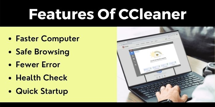 Features of CCleaner