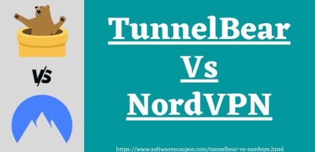 TunnelBear Vs NordVPN www.softwarescoupon.com