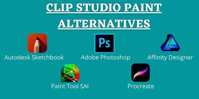 Best Alternatives to Clip Studio Paint